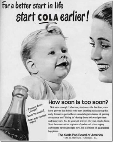 Frisdrankindustrie promoot suikerhoudende cola