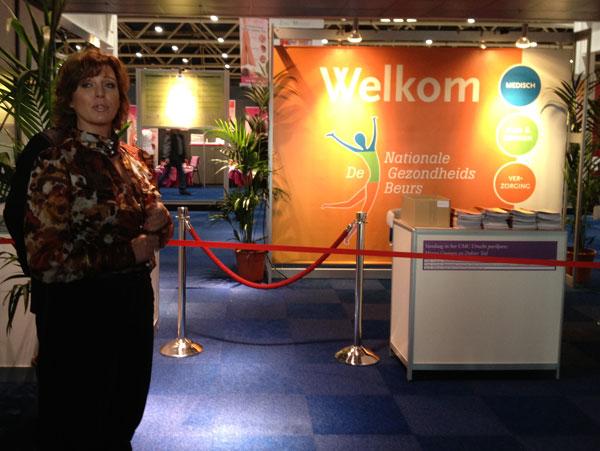 Myrna Goossen opent Nationale Gezondheidsbeurs 2012
